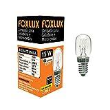 Lâmpada para Geladeira e Micro-ondas Foxlux – Luz Amarela (2700K) – 15W – 127V – Base E-14