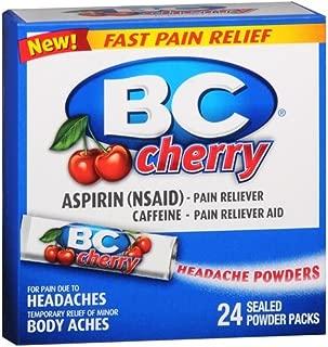 BC Headache Powders, Cherry 24 ea Pack of 3