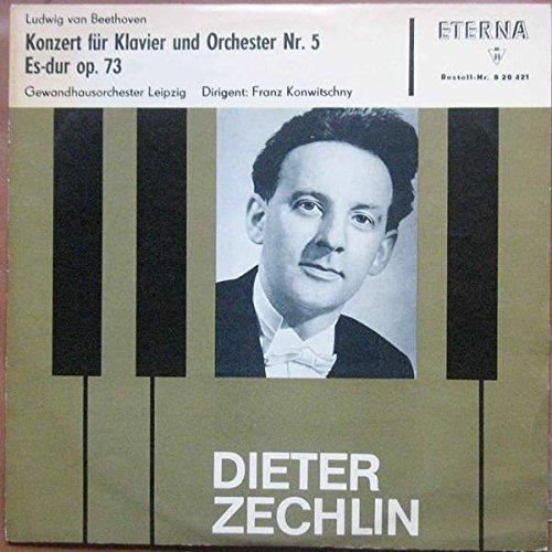 Ludwig van Beethoven , Dieter Zechlin , Gewandhausorchester Leipzig , Franz Konwitschny - Konzert Für Klavier Und Orchester Nr.5 Es-Dur Op. 73 - ETERNA - 8 20 421