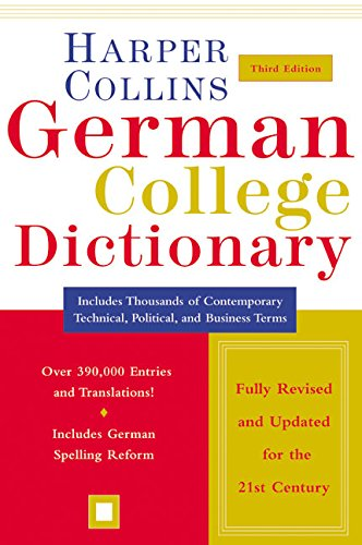 HarperCollins German College Dictionary 3rd Edition (Collins Language)