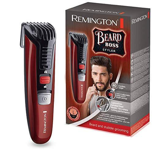 Remington Beard Boss Styler MB4125 Barbero, Cuchillas Serradas de Acer