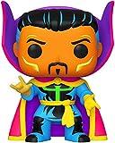 Softeam - Pop Marvel: Black Light-Dr. Strange Doctor Figura de colección, Multicolor, 48848_1