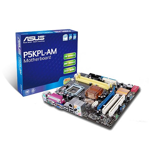 Asus P5KPL-AM SE µATX Mainboard (Sockel 775, on Board VGA (256 MB), 1600(OC) MHz FSB)