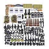 YVSoo Jouet Militaire Kit Casque et Arme pour Figurines de Soldats SWAT Police, Compatible avec Figurine Lego