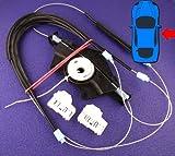 De suspensión para Volkswagen Passat Set para reparación de regulador de ventana eléctrico - Ventana delantera derecha controladores (cables, carrete, cierres) - de la!