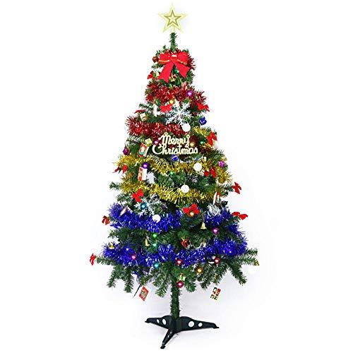 Topashe Material PVC Árbol de Navidad Artificial Acebo Natural,Árbol de decoración navideña,...