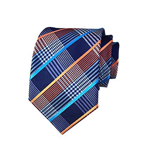 Lefuku Heren Neckties Bruiloft Party Klassieke Necktie & Pocket Vierkante Set-Meerdere Kleuren Zakelijke Pak Graduatie Tie, Heren Tie Gift Box 6 Stuk Set