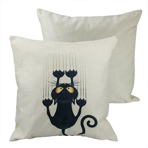 hemore dulce silla Cojín de sofá almohada peluche juguete decoración Cojín decorativa almohada de gato Funda de almohada cojín decoración sofá, almohada