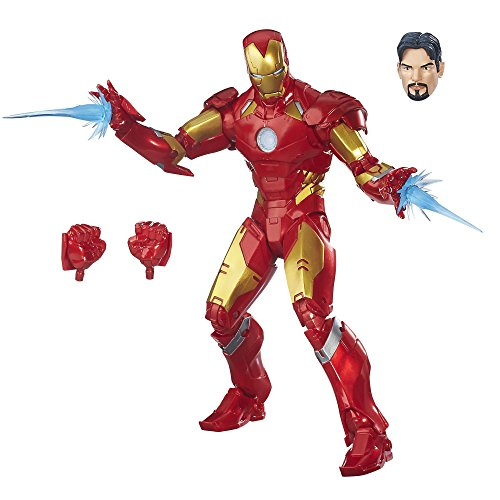 Avengers- Marvel Legends Figura Iron Man, Multicolor (Hasbro B7434EU4)