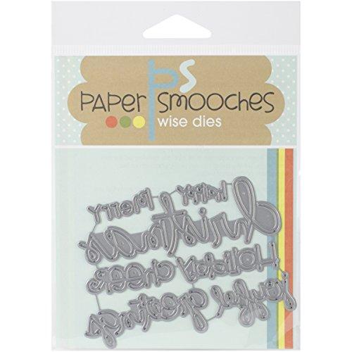 Paper Smooches OCD087 Christmas Words Die