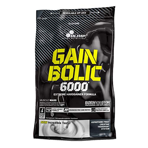 Olimp Gain Bolic 6000 Cookies Cream, 1er Pack (1 x 1 kg)