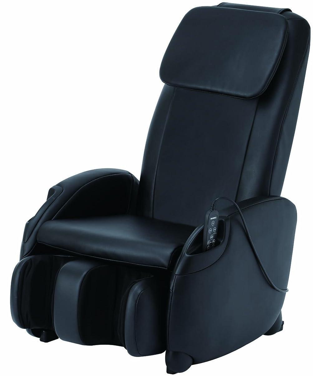 協力届けるちっちゃいスライヴ マッサージチェア くつろぎ指定席Light ブラック CHD-3400(K)