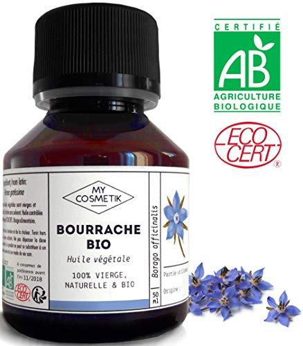 Huile végétale de Bourrache BIO - MyCosmetik - 50 ml