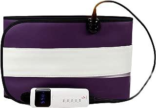TZYY Portable Electrique Chauffage Infrarouge  Ceinture Massage Minceur avec Fonction Compression L air Telecommande Minuterie pour Femmes Hommes