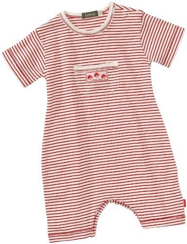 LANA natural wear - Salopette - Col ras du cou - Sans manche Mixte bébé - Rouge - Rot (1028 R. Max - tomate ) - FR : 1 mois (Brand size : 50/56)