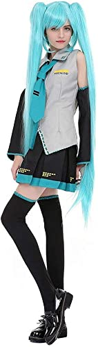 Lilongjiao damen Halloween Cosplay Show Kostüm Kleid Anzüge Hatsune Miku Formel Anzug Cos Kleidung Hatsune Kleidung