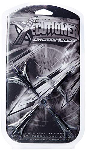 Xecutioner Broadhead Expandable Black 100 gr (Pack of 4)