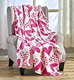 """Red Valentines Throw Blanket 