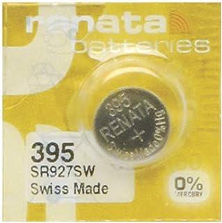 Pile Montre Renata MP-E 395 SR927SW, 60% Plus puissante, 1 Pile