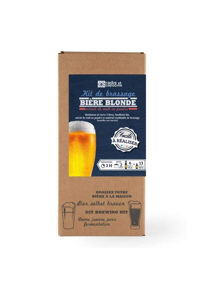 Radis et Capucine Malt - Estuche de cerveza rubia biológica (4 L): Amazon.es: Hogar