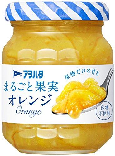 アヲハタ まるごと果実 オレンジ 瓶125g [6103]