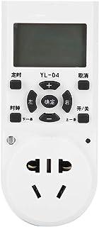 Tomada do temporizador, soquete eletrônico do cronômetro da tela de display LCD, soquete do temporizador do pulverizador d...