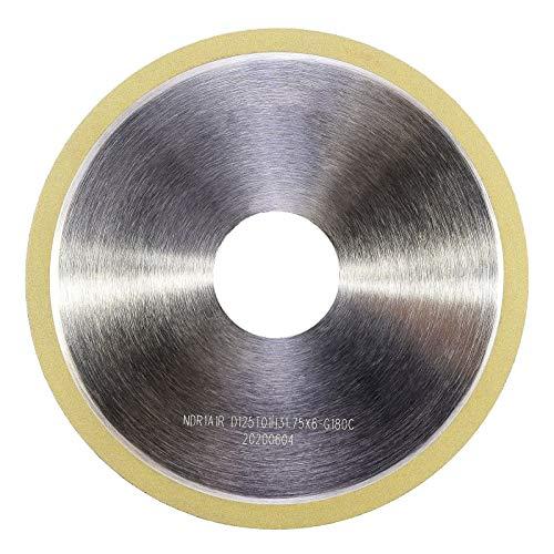 MaxTool Diamond Cut-Off Grinding/Abrasive OD 5' Bore 1.25' T1mm Width 0.25' G180 Resin Bond NDR1A1RD5T01X6G18