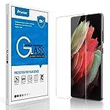 Galaxy S21 Ultra Screen Protector Venoro Tempered Glass Screen Film 9H Anti-Fingerprint, HD, Bubble Free Full Coverage for Samsung Galaxy S21 Ultra 6.8inch (Clear)