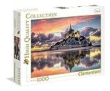 Clementoni - Puzzle de 1000 Piezas Le Magnifique Mont Saint - Michel (39367)