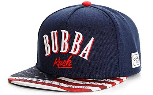 Cayler And Sons - Casquette Snapback Homme Bubba Kush Cap - Navy/Red/Camo