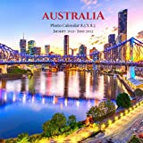 Australia Photo Calendar January 2021 - June 2022: 18 Monthly Mini 8.5 X 8.5 Picture Book| Cute 2020-2021 Year Blank At A Glance Colorful Desk Page ... Country Nature Art Landscape Theme