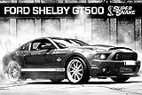 empireposter Autos - Ford Shelby GT500 Supersnake - Car Poster Plakat Druck - Grösse 91,5x61 cm