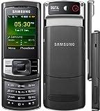Samsung C3050 Handy (Seniorenhandy Klappdeckel, Schwarz