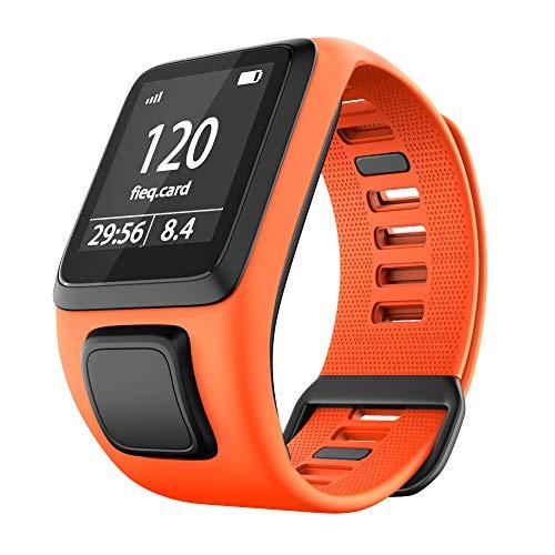 Cobar horlogeband voor TomTom Watch, siliconen waterdicht, ademend, sport Fitness horlogeband Polsband vervangen voor TomTom Runner 2 / Runner 3 / Spark/Golfer 2 Sports GPS Running Smartwatch