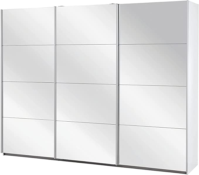 3-Türen mit Spiegeln Kleiderschränke mit Schiebetüren