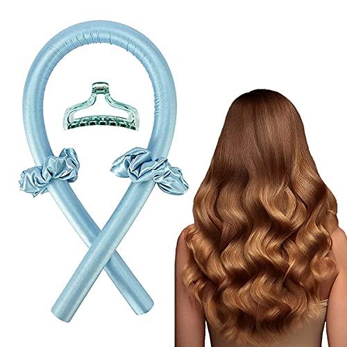 FUBAO Rizador sin calor, rizador de pelo sin calor, sin ondas de calor, herramientas de peinado para cabello largo y medio, para dormir durante la noche