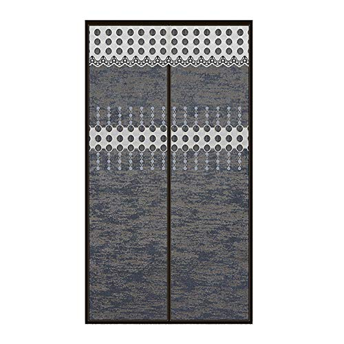 Gris Oscuro Cortinas para Quitar Calor 100x220cm/39.4x86.7in Cortinas De Salon Elegantes para Campistas Caseros