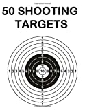 50 Shooting Targets: 8.5' x 11' Shooting Range`Targets or Bullseye. Great for all Firearms, Rifles, Pistol, AirSoft, BB Gun, Archery and Pellet gun