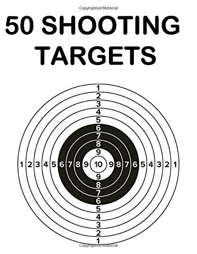 50 Shooting Targets: 8.5
