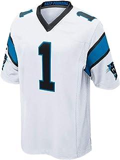 Men's Basketball Jersey Stitched Cam Newton Carolina Panthers #1,L