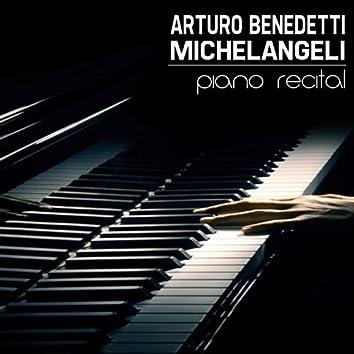 Arturo Benedetti Michelangeli, Piano Recital