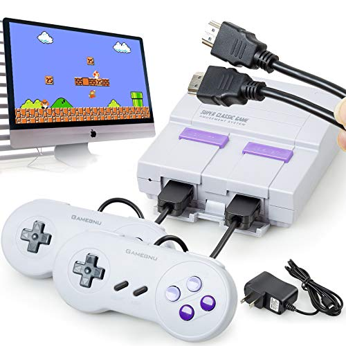 Classic Game Consoles HD Retro Game Console with Built-in 821 NES Games and 2 Classic Controller,HDMI HD Output,Children Gift,Birthday Gift Happy Child Memories,Childhood Classic Game HDMI HD DISPLAY
