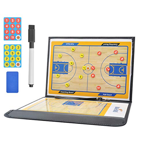 CS COSDDI Basketball-Taktikbrett Basketball Coaching Board,Basketball Magnetische Taktik Board