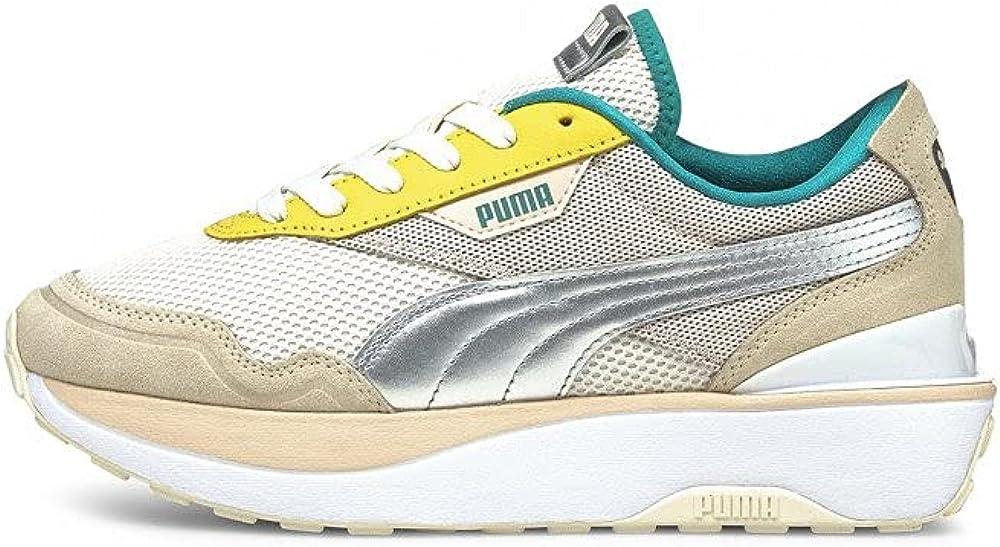 Puma cruise rider silk wn`s scarpe sneakers da donna in tessuto e pelle sintetica 375073-01
