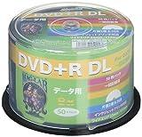 HI-DISC データ用DVD R HDD R85HP50 (DL/8倍速/50枚 )
