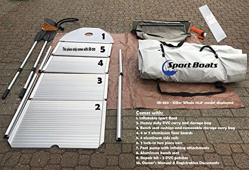 Inflatable Sport Boats Shark 9.8' - Model SB-300 - 2021 Model