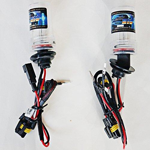 Feeldo 2 x 35 W de voiture H1 H3 H7 H8/H9/H11 H10 9005 9006 880/881 Xenon HID Ampoule de remplacement ampoules de Singel (Amsterdam)