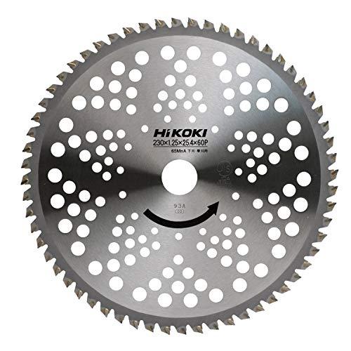 日立工機 ハイコーキ チップソー 軽量、下刈用 230MM×25.4 60枚刃 00684581 直送品