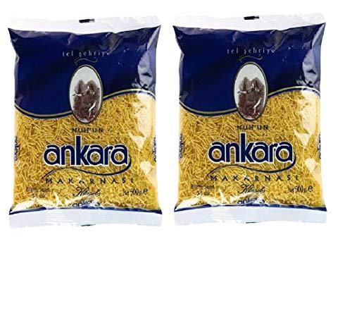 Ankara Pasta Vermicelli Dünner Reis, 500 g, 2 Stück