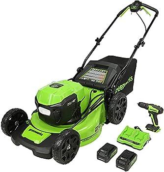 Greenworks 48V 20 Inch Brushless Self-Propelled Mower